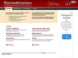 blankettbanken.se