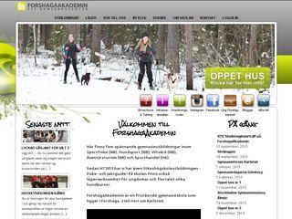 forshagaakademin.se