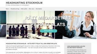 headhuntingstockholm.nu