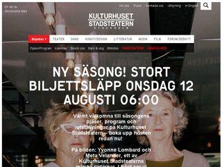 kulturhusetstadsteatern.se