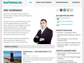 kurbanov.se