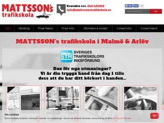 mattssonstrafikskola.se