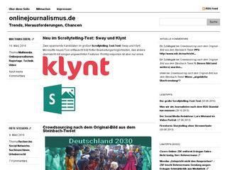 onlinejournalismus.de