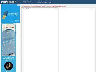 phptester.net