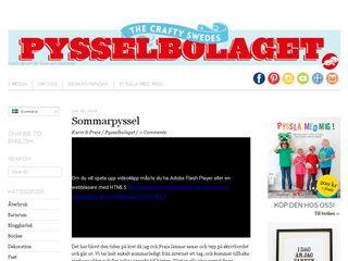 pysselbolaget.se