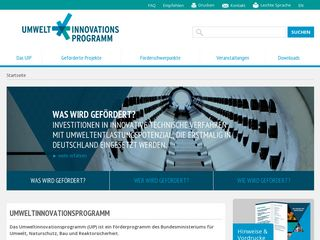 umweltinnovationsprogramm.de