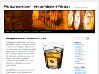 whiskyrecensioner.se