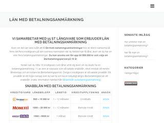 lånmedbetalningsanmärkning.se