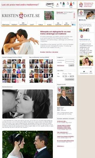 Säker dating verifierad inloggning