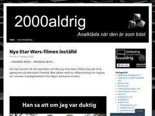 2000aldrig.se