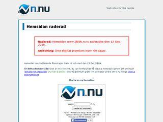 Earlier screenshot of 3kids.n.nu