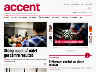 Preview of accentmagasin.se