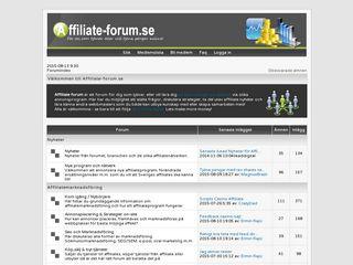 affiliate-forum.se