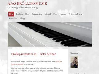ajasbrollopsmusik.se