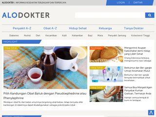 Preview of alodokter.com