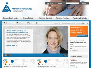 Preview of alzheimer-forschung.de