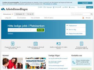 arbetsformedlingen.se