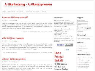 artikelexpressen.se