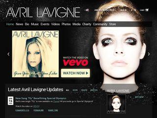 Preview of avrillavigne.com