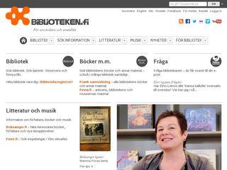 biblioteken.fi