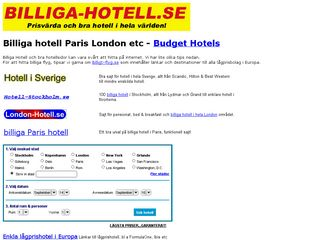billiga-hotell.se