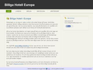 billigahotelleuropa.n.nu