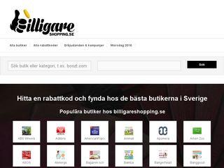 billigareshopping.se