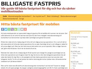 billigaste-fastpris.se