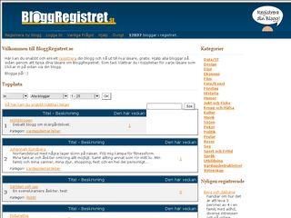 bloggregistret.se
