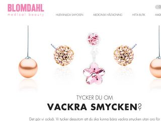 Preview of blomdahl.se