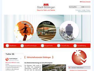 Preview of boeblingen.de