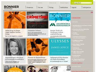 Preview of bonnierforlagen.se