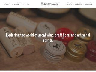 Preview of bottlenotes.com