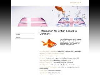 Earlier screenshot of britexpat.dk