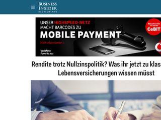 Preview of businessinsider.de