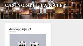 Earlier screenshot of casino-2.nu
