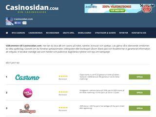 Preview of casinosidan.com