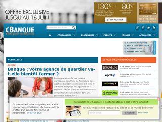 Preview of cbanque.com