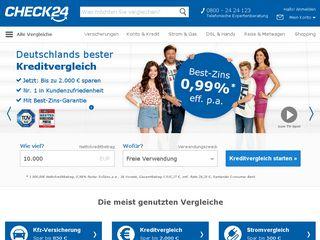 Preview of check24.de