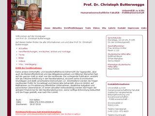 christophbutterwegge.de