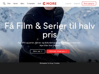 Preview of cmore.dk
