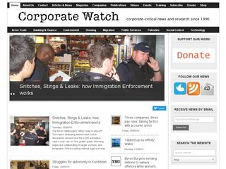 Preview of corporatewatch.org