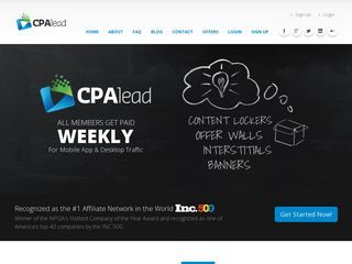 Preview of cpalead.com