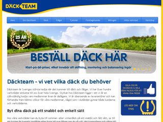 Preview of dackteam.se