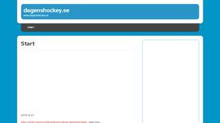 dagenshockey.se