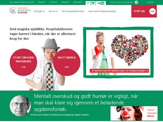 Preview of danskehospitalsklovne.dk