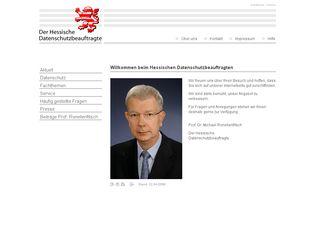 Preview of datenschutz.hessen.de