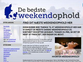 de-bedste-weekendophold.dk