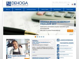 Earlier screenshot of dehoga-bundesverband.de