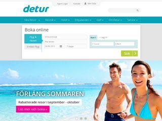 Preview of detur.se